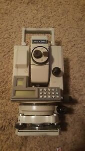 Sokkia Total Station Set 3b Ii With Case And Batteries