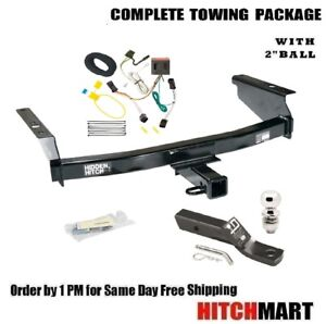 Class 3 Trailer Hitch Package W 2 Ball For 2002 2007 Jeep Liberty 87006