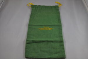Antique Sterling Silver Felt Bag Shreve Crump Low Company 10 1 2 By 5
