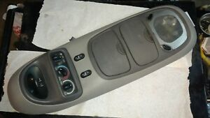 Ford Excursion Overhead Top Roof Console Map Light Display Gray Grey Computer