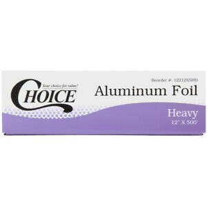 Choice 12 X 500 Food Service Heavy duty Aluminum Foil Roll