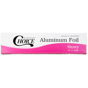 Choice 18 X 1000 Food Service Heavy duty Aluminum Foil Roll