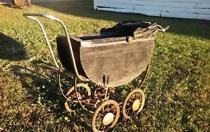 Vintage Child S Baby Doll Stroller Carriage Buggy