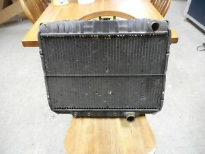 Used Original Ford Radiator 1968 Mustang 302 24 Dated 6 68