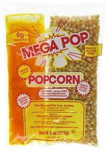 Mega pop 36 Ct 8 Oz Corn Kit For 6 Oz Popper