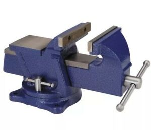 5in Central Forge Swivel Vise With Anvil Heavy Duty Swivel Vise Has Large