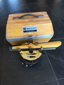 Berger Instruments Model 200b Surveying Level Transit level