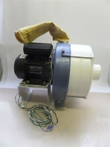 Air Control Industries Industrial Blower With Lafert Dv80s2 Motor