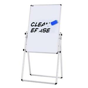 Magnetic Bulletin Dry Erase Board With Markers 36x24 Inch Collapsible Portable