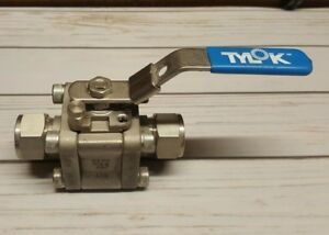 Tylok 3 4 Stainless Compression Ball Valve 3000 Wog Cf8m