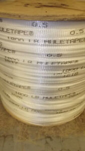 1 2 X 5000 1800 Tensile Polyester Pull Tape Mule Tape Webbing