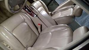 2002 2003 2004 Cadillac Seville Sts Sls Front Bucket Rear Back Leather Seat Set