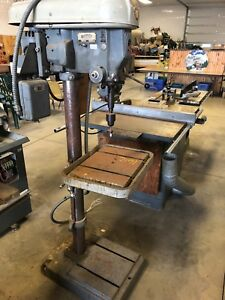Rockwell Drill Press 17 600 3 Ph 1hp Complete Press With Stand