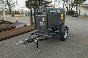 Lincoln Sae 500 Diesel Welder Engine driven Welder generator Kubota Turbo