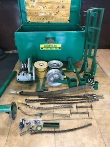 Greenlee 686 Tugger Set Up 640 Motor Cable Puller 4000lbs