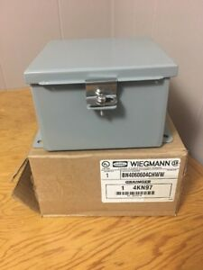 Hubbell Wiegmann Bn4060604chww Grainger 4kn97 Electric Box New