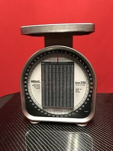 Pelouze Postal Scale Y50 2002 Rates Rated 50 Pound Good Condition Ships Free