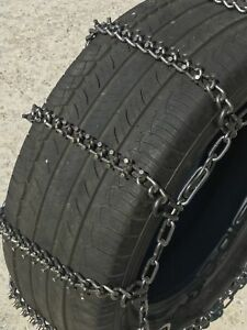 Snow Chains P245 70r15 Alloy Cam Stud Tire Chains W Spider Tensioners