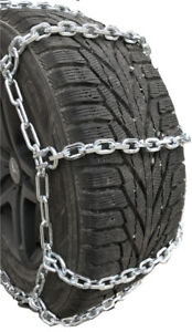 Snow Chains P245 70r15 P245 70 15 7mm Square Tire Chains W spider Tensioners
