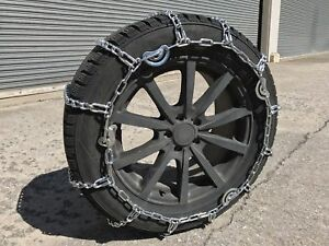 Snow Chains 225 75r16lt 225 75 16lt V Bar Cam Tire Chains W Spring Tensioners