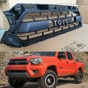 2012 2013 2014 2015 Grille Ptr54 35150 For Tacoma Trd Pro Matte Black