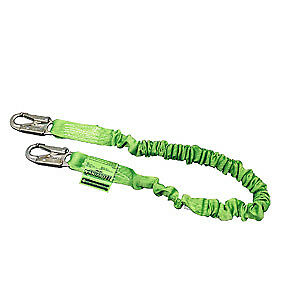 Miller By Honeywell 216mal Z 6 Manyard Ii Stretchable Shock absorbing Lanyard