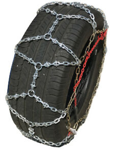 Snow Chains 225 65r18 225 65 18 Onorm Reinforced Diamond Tire Chains