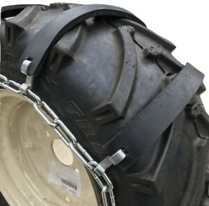 Snow Chains 25 8 5 14 25x8 5x14 Rubber Tractor Tire Chains Set Of 2