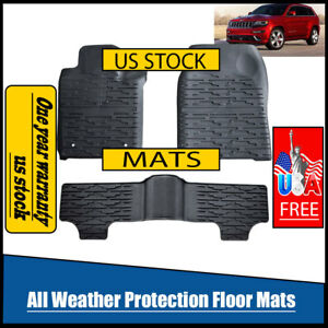 Sale Rugged Liners 2014 17 Jeep Grand Cherokee Floor Mats 99151 Weather beater