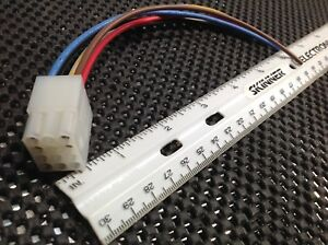 Federal Signal Smart Siren Ss2000 Harness Plug With 6 Leads Old Style Sirens