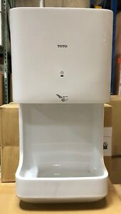 Discounted Toto Hdr101 wh 120v Surface mounted Hand Dryer Minor Ding
