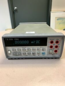 Hp Agilent 34401a Digital Multimeter 6 Digit Tested