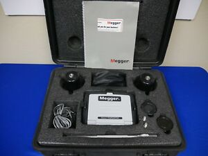 Megger Mpp1000 Acoustic Electromagnetic Cable Fault Pinpointer For Thumpers