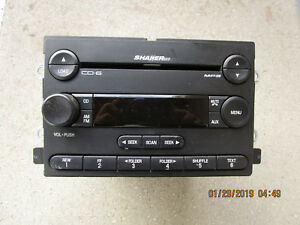 05 06 Ford Mustang 6 Disc Cd Aux Mp3 Player Radio Receiver P N 5r3t 18c815 Gb