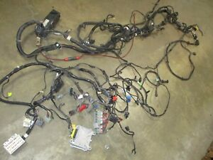 1997 1998 Jeep Wrangler Tj Engine Wire Harness without A c 4 Cyl 2 5 Manual 65