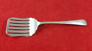 Slotted Pastry Server Old English Sheffield England Vintage Silverplate Flatware