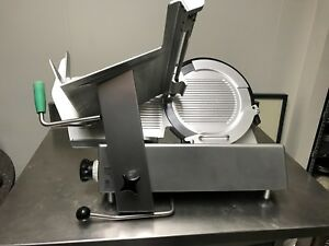 Commercial Bizerba Manual Meat Cheese Slicer Restaurant Equipment
