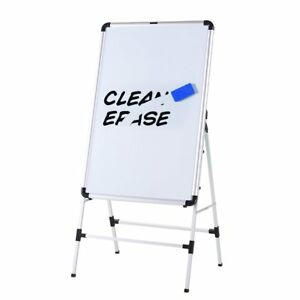 Magnetic Bulletin Whiteboard 36x24 Inch Collapsible Dry Erase Boards Easel