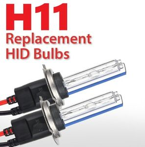 2x New H11 6000k Xenon Replacement Bulb Lamp Hid Fog Light Bmw Vw Audi