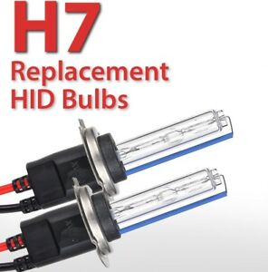 2x New H7 6000k Xenon Replacement Bulb Lamp Hid Headlight Bmw Vw Audi