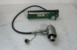 Greenlee 767 And 747 Hydraulic Pump And Ram For Knock out Punch Free Shipping
