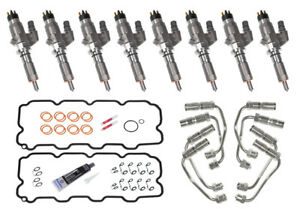 2001 2004 5 Duramax Lb7 Injector Replacement Kit Bosch Oem New