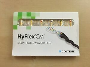 Coltene Hyflex Cm Packs Of Small Medium And Large Controlled Memory File 6pcs