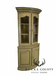 French Country Style Corner Cabinet