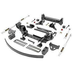 Trail Master 6 0 Inch Bracket Suspension Lift Kit With Rear Ngs Shocks Tm104n