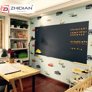 Magnetic Chalkboard Wall Sticker Roll With Self adhesive Back Wallpaper 48 x24