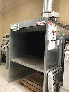 Bench Style Spray Booth