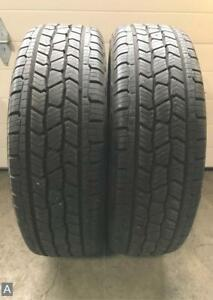 2x P225 65r17 Bigfoot Big O A s 10 11 32 Used Tires