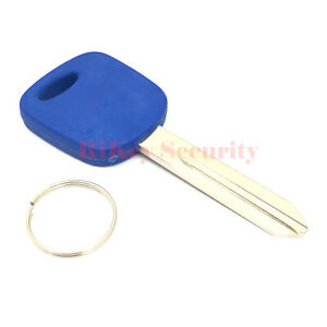 Blue Transponder Chip Car Blank Key Replacement For Ford Lincoln H72 011r0221