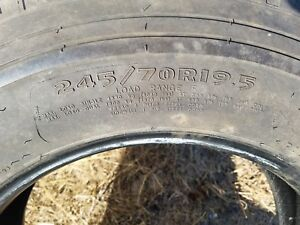 Goodyear G670 Rv 245 70r19 5 Load F Used Tire Has About 15k Miles 10 32 Tread